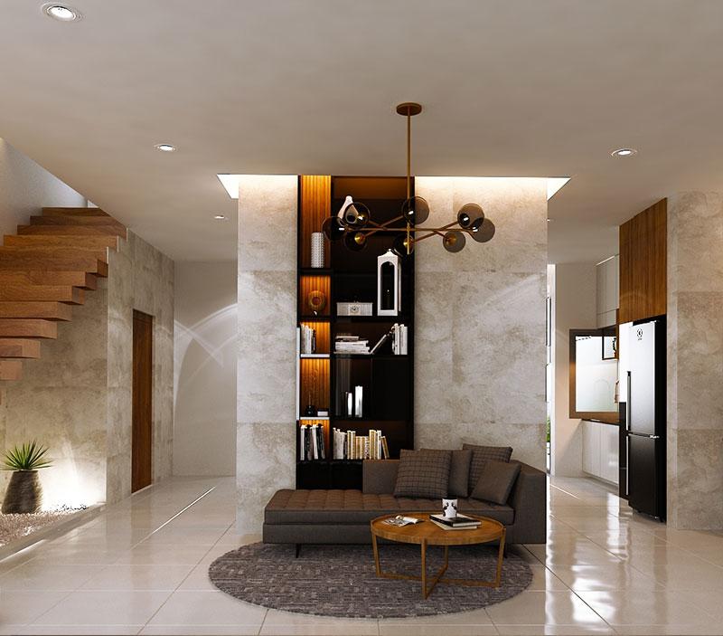 Vertica Pool Villa by Villa Bla Bla, Pool Villas, Phuket - Reception area and work space