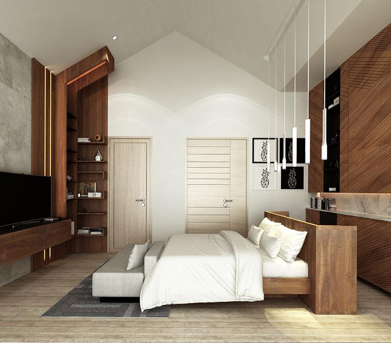 Vertica Pool Villa by Villa Bla Bla, Pool Villas, Phuket - Master Bedroom